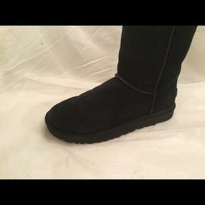 Ugg Classic Shearling  Tall Boot Black 1016224 9